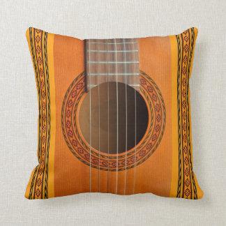 Classical guitar rosette close-up cushion