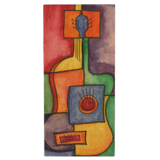 Classical Guitar Wood USB 2.0 Flash Drive