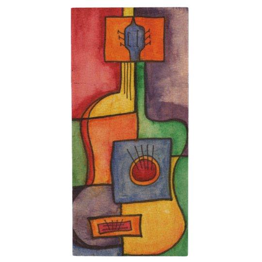 Classical Guitar Wood USB Flash Drive