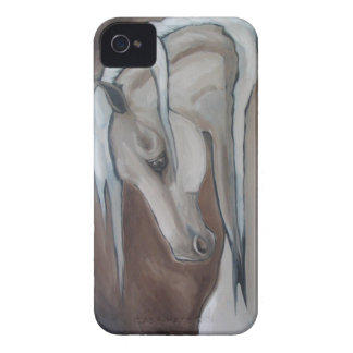 Classical Horse Gray iPhone 4 Case
