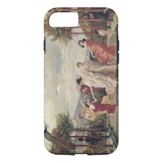 Classical Idyll (oil on canvas) iPhone 7 Case