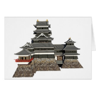 Classical Japanese Castle Card