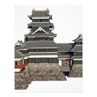 Classical Japanese Castle Letterhead