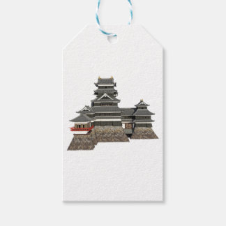 Classical Japanese Castle Pack Of Gift Tags