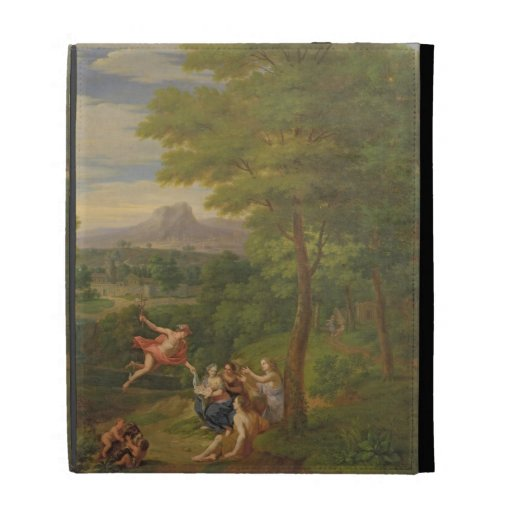 Classical Landscape with Mercury Overseeing the Bi iPad Cases