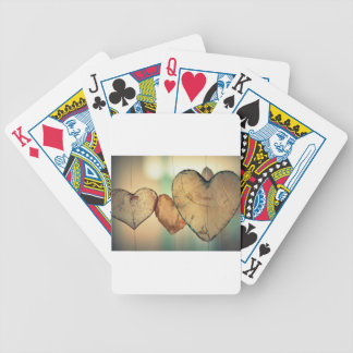 Classical Love Bicycle Playing Cards