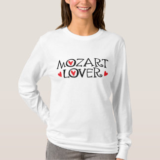 Classical Mozart Lover Gift T-Shirt