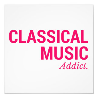 Classical music addict art photo