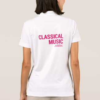 Classical music addict polo shirt