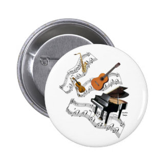 Classical Music Art 2 Inch Round Button