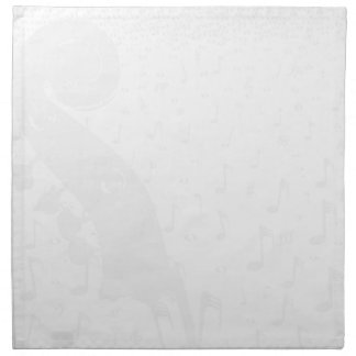 Classical Music Background Napkin
