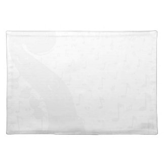 Classical Music Background Placemat