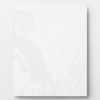 Classical Music Background Plaque