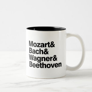 Classical Music - Composers Band Funny mug