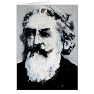 Classical Music Greeting Card - Brahms (Bearded)