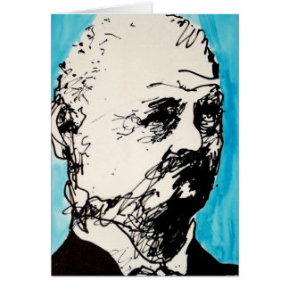 Classical Music Greeting Card - Bruckner