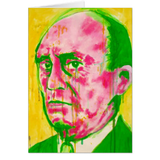 Classical Music Greeting Card - Schoenberg