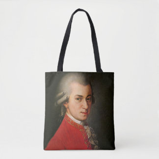 Classical Music Mozart Barbara Krafft portrait Tote Bag