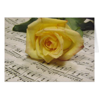 Classical Rose Card