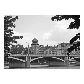 Classical view of Prague Photo Print
