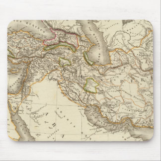 Classical World Eastern Hemisphere Map Mouse Pad