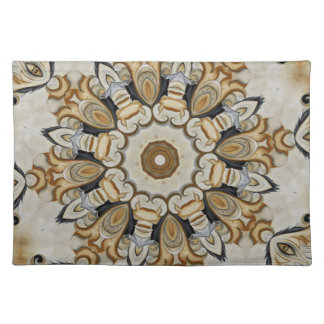 Classical Yellow rosette No.72 Placemat