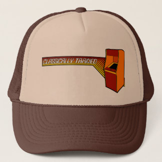 Classically Trained Video Gamer Trucker Hat