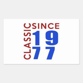 Classice Since 1977 Birthday Designs