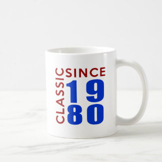 Classice Since 1980 Birthday Designs Coffee Mug