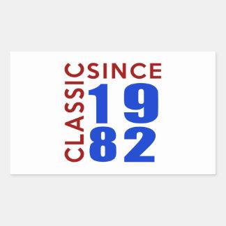 Classice Since 1982 Birthday Designs