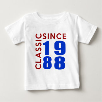 Classice Since 1988 Birthday Designs Baby T-Shirt
