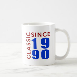 Classice Since 1990 Birthday Designs Coffee Mug