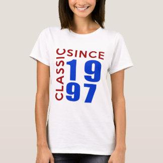 Classice Since 1997 Birthday Designs T-Shirt