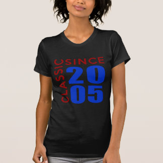 Classice Since 2005 Birthday Designs T-Shirt