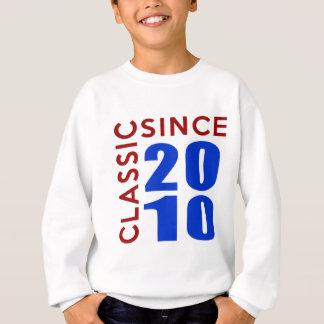 Classice Since 2010 Birthday Designs Sweatshirt