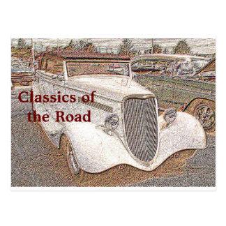 Classics of the Road - postcard