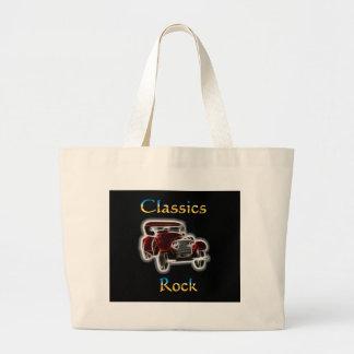 classics Rock 2 Large Tote Bag