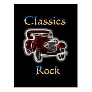 classics Rock 2 Postcard