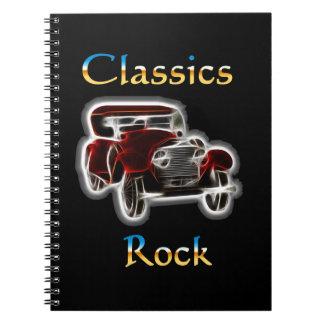 classics Rock 2 Spiral Note Books