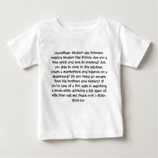Classifieds: Modern day Princess Baby T-Shirt