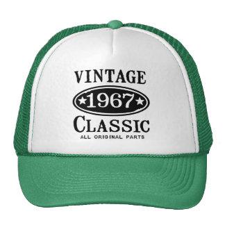 Classique vintage 1967 casquette trucker