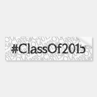 ClassOf2015 Bumper Stickers