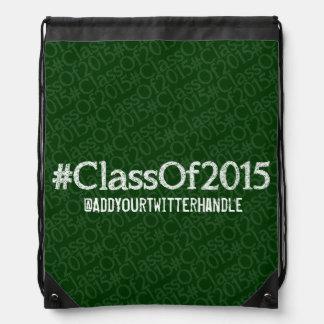 ClassOf2015 Customizable Drawstring Backpack