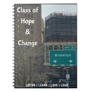 ClassofHC Brooklyn Exit Promo Notebook