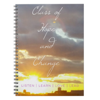 ClassofHC Sunrise Promo Notebook