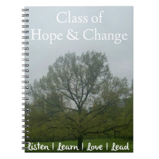 ClassofHC Tree in the City Promo Notebook