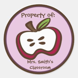 Classroom Apple Stickers