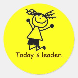 Classroom management sticker