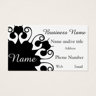 Classy and Clean Business Card