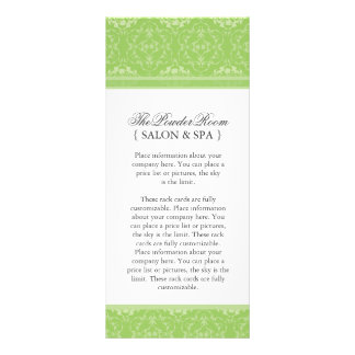 Classy and Stylish Salon and Spa Rack Card